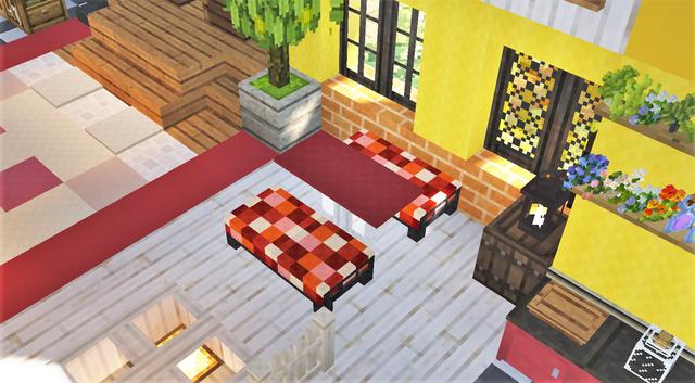 赤いテーブルとソファ4.png